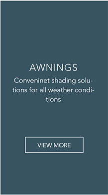Conveninet shading solutions for all weather conditions