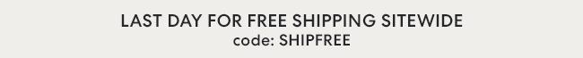 Free Shipping September 17-21 - Code: SHIPFREE