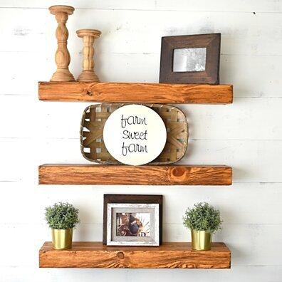Wood Shelves, Kitchen Shelves, Mantel Shelf, Book Shelves, Rustic Shelf, Floating Shelves, Wood Shelving, Pantry Shelves, Fireplace Mantel