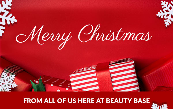 Merry Christmas - From all of us here at Beauty Base