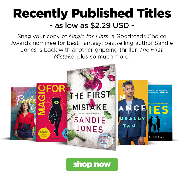 Shop our Recently Published book list!