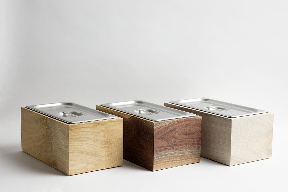 Noaway Wood Countertop Compost Bin?