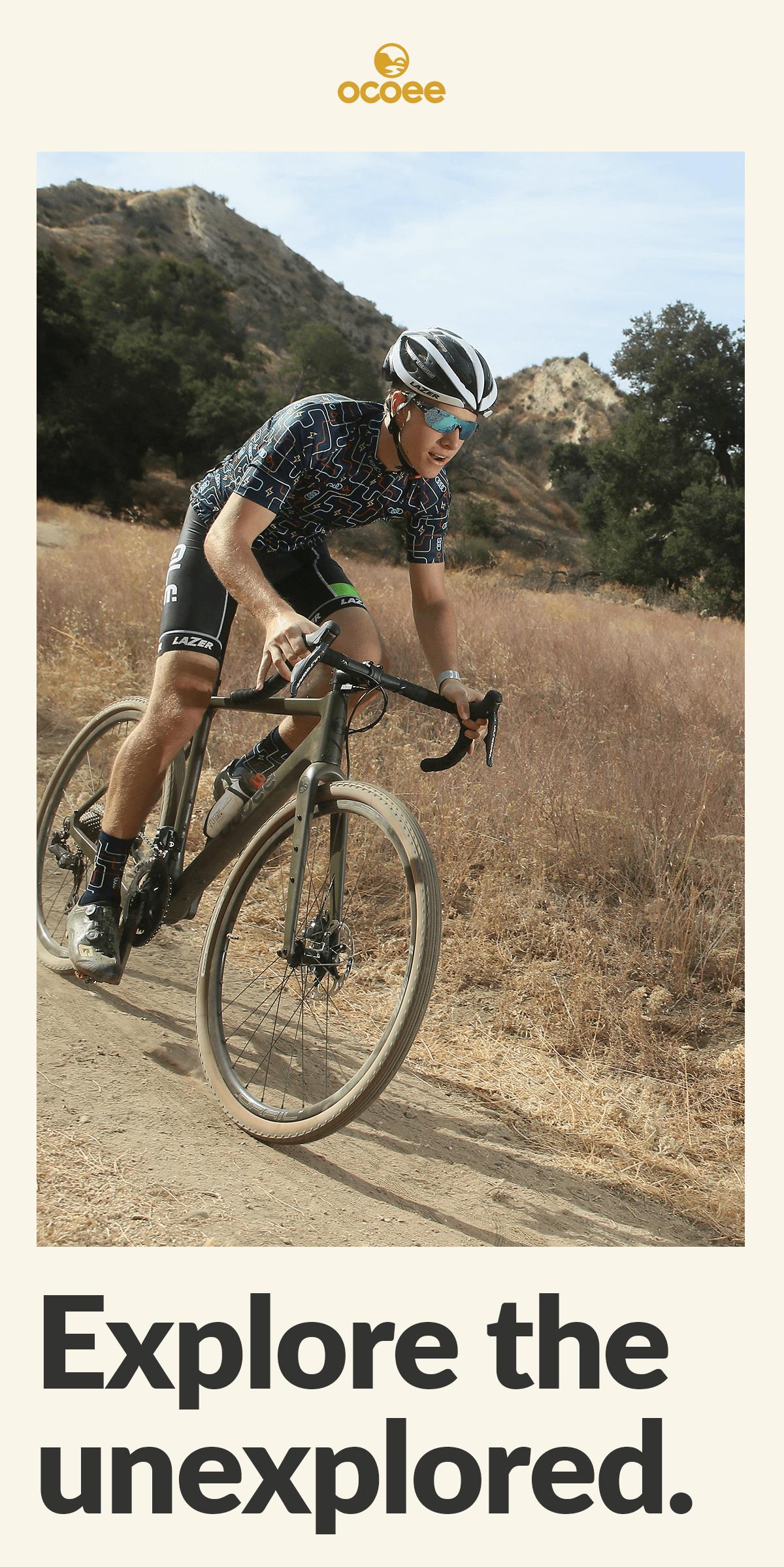 Explore the unexplored with the Ocoee Boundary gravel bike.