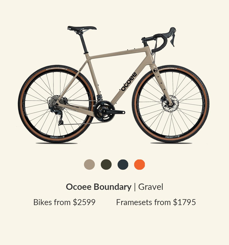 Ocoee Boundary Gravel bike: starting at $2599. Shop now!