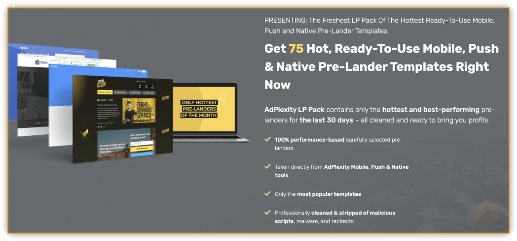 75 Landing Pages