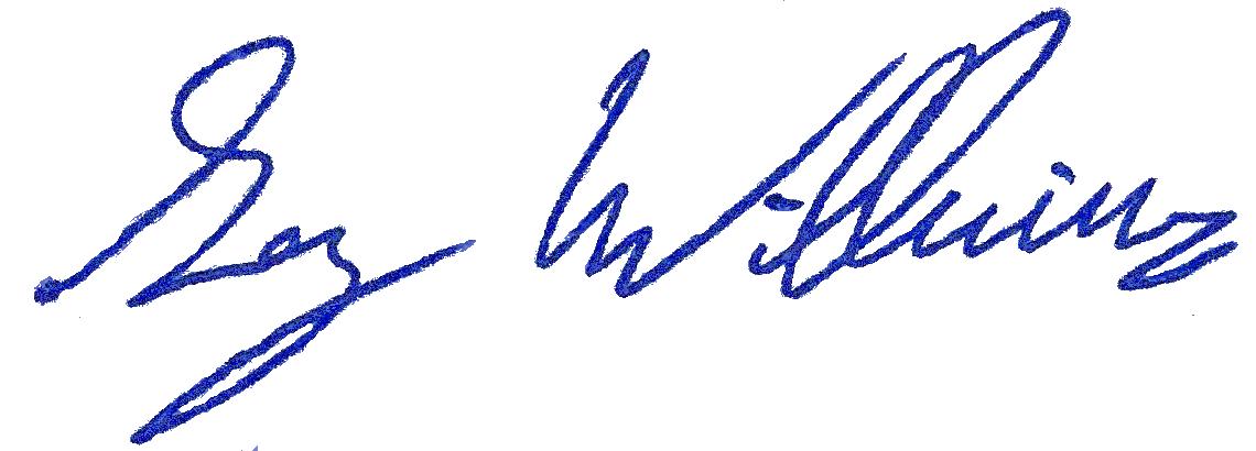 Greg translucent signature