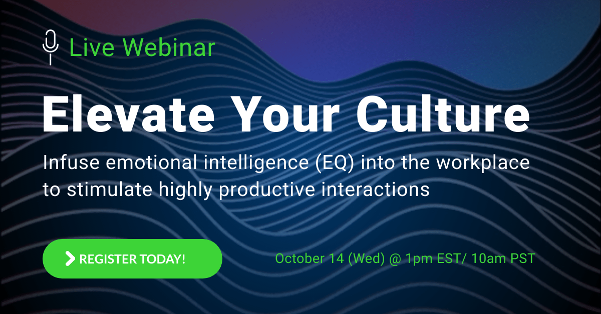 Webinar Registration: Elevate your culture with EQ?