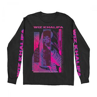 Wiz Khalifa - Bammer Glitch Longsleeve T-Shirt