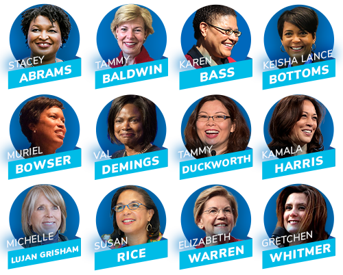 Who should Joe Biden pick for VP? Stacey Abrams, Tammy Baldwin, Karen Bass, Keisha Lance Bottoms, Muriel Bowser, Val Demings, Tammy Duckworth, Kamala Harris, Michelle Lujan Grisham, Susan Rice, Elizabeth Warren, or Gretchen Whitmer?
