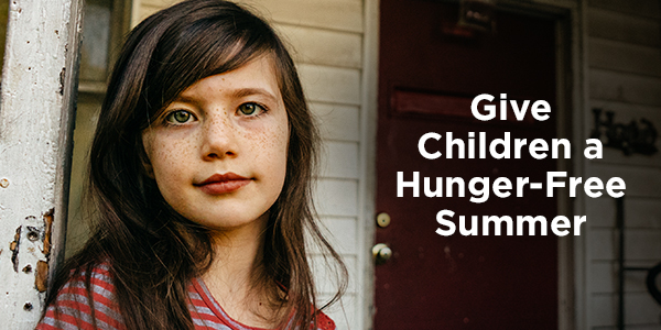 Give Children a Hunger-Free Summer