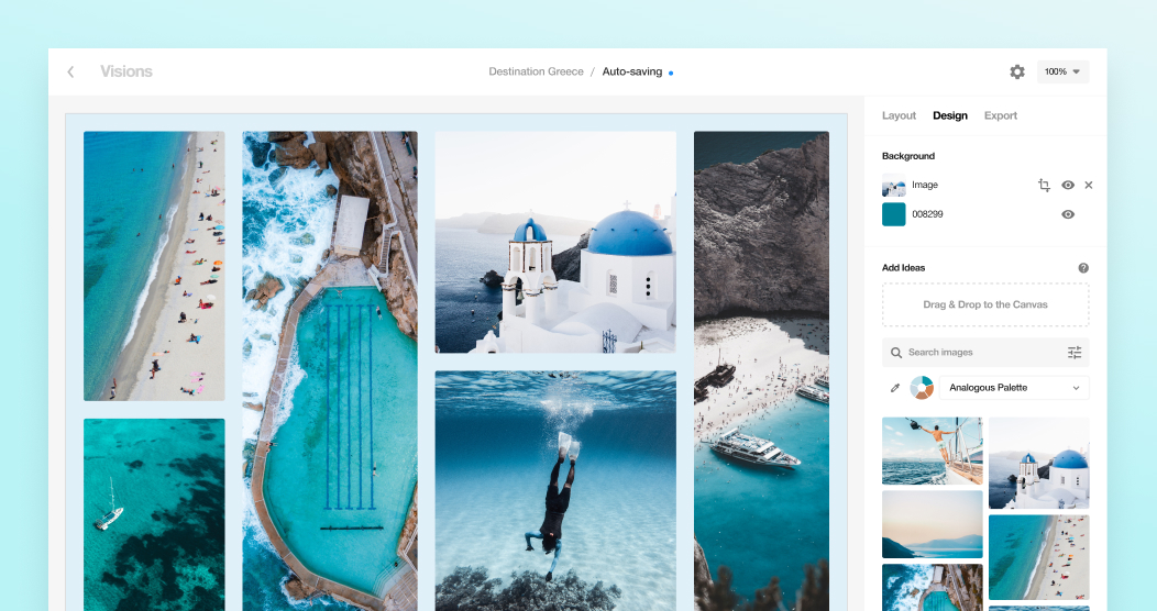 Introducing Designspiration Visions