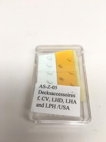 ASZ 05 US Deck Accessories for Carriers and Amphibious ships