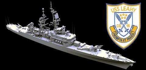 TF 08B USS Leahy CG-16 1975