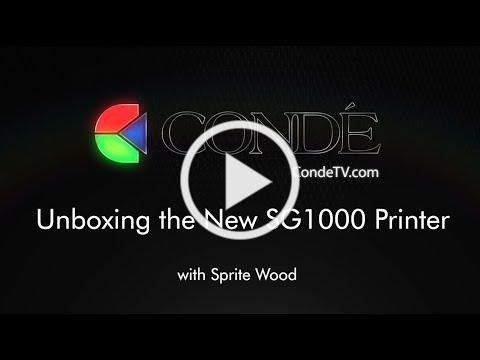 Unboxing the New Sawgrass SG1000 Printer