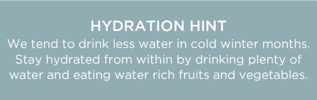 Hydration Hint