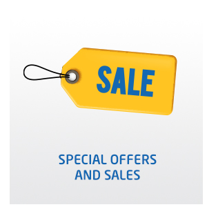 Special offers and sales