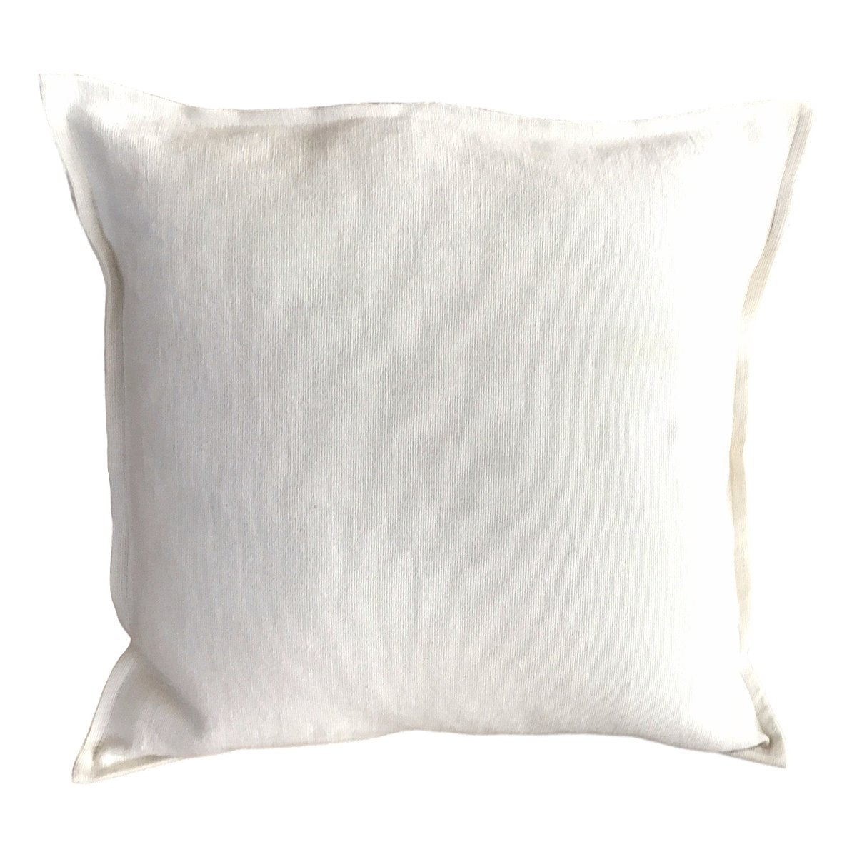 Pillow Soft Washed Linen Off White 20 x 20