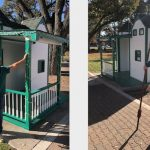 New Santa's house installed in downtown park