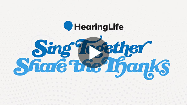 Sing Together, Share the Thanks!
