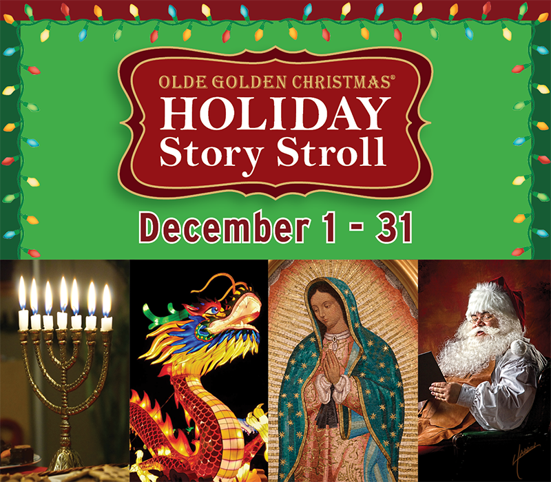 Holiday Story Stroll