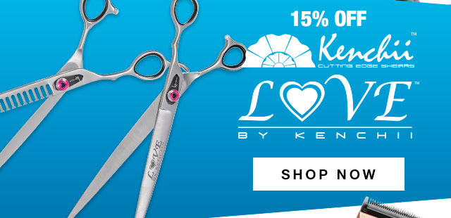 15% Off Kenchii Love Scissors