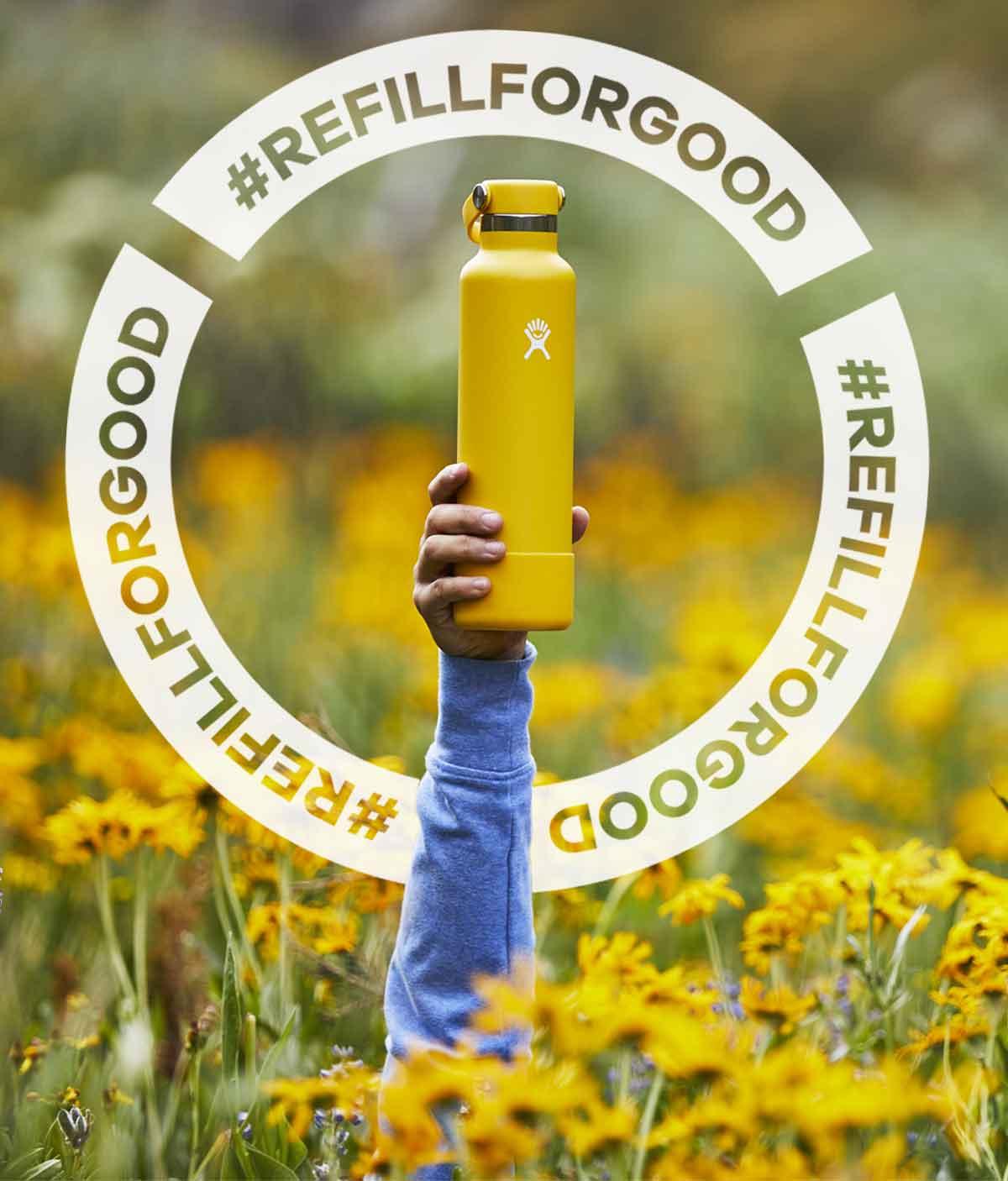 #REFILLFORGOOD
