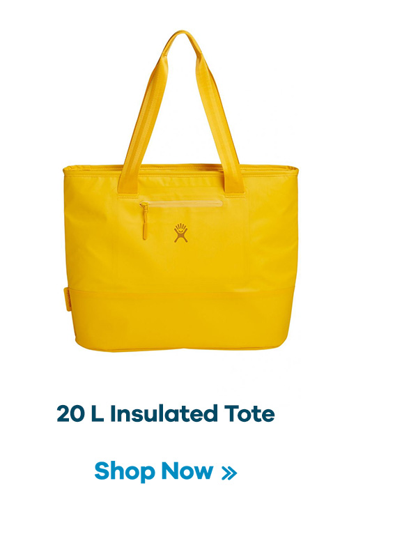 20 L Insulated Tote | Shop Now >>