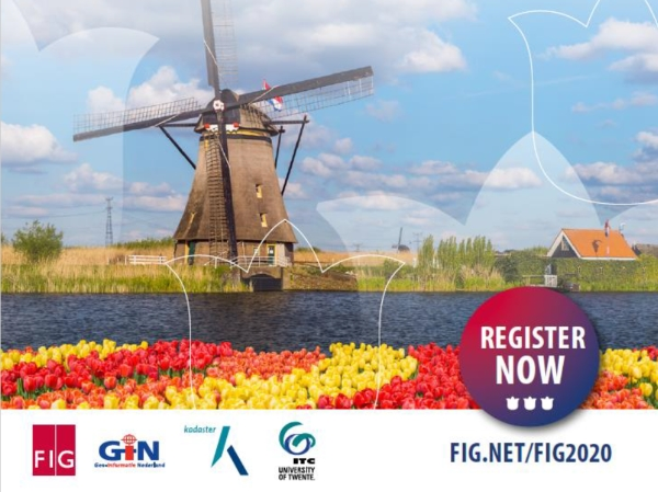 FIG Working Week 2020 - register now