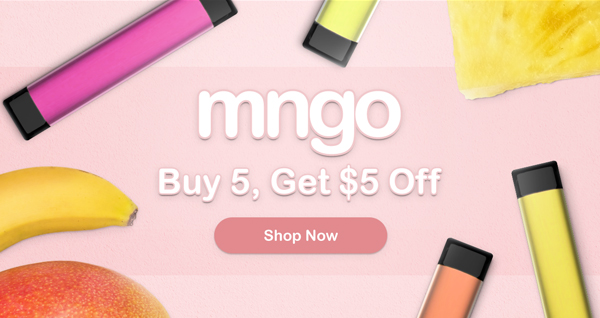 Mngo Disposables - Buy 5 Get $5 off!
