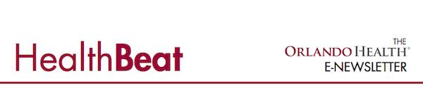 Health Beat - The Orlando Health E-Newsletter Logo