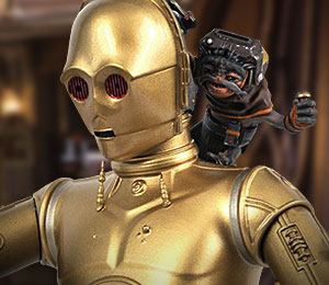 C3PO With Babu Frik