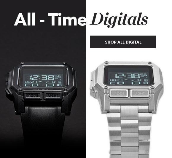 Men's Digital Watches by Nixon