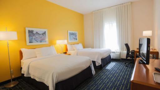 Fairfield Inn & Suites Lexington Berea 2 bed room