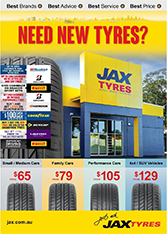 Catalogue 5: Jax Tyres