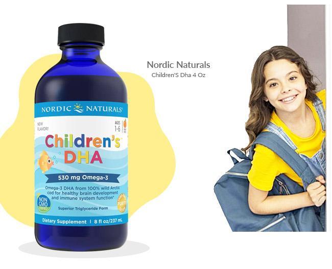 Nordic Naturals - Children''S Dha 4 Oz
