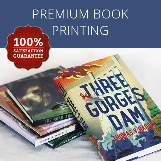 Premium book printing.