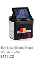 3km Solar Electric Fence