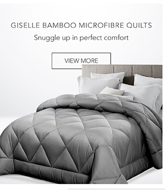 Giselle Bamboo Microfibre Quilts