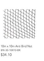 10m x 10m Anti Bird Net