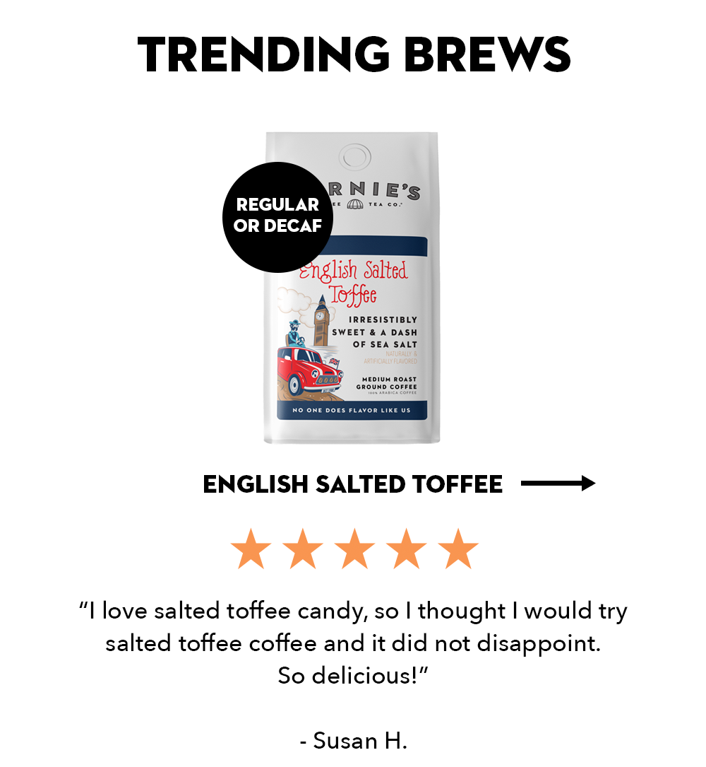 English Salted Toffee