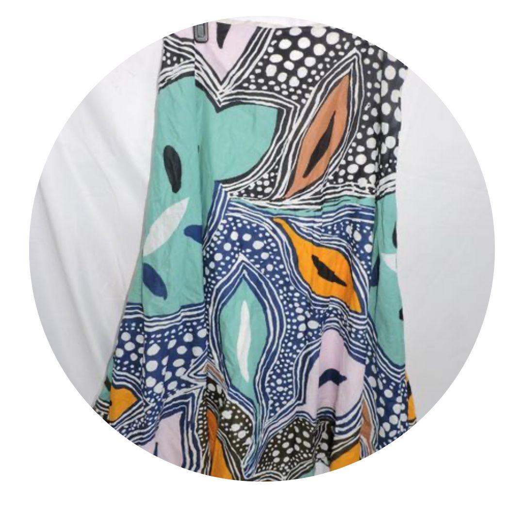 Diane Von Furstenberg Women's Pastel Floral Skirt