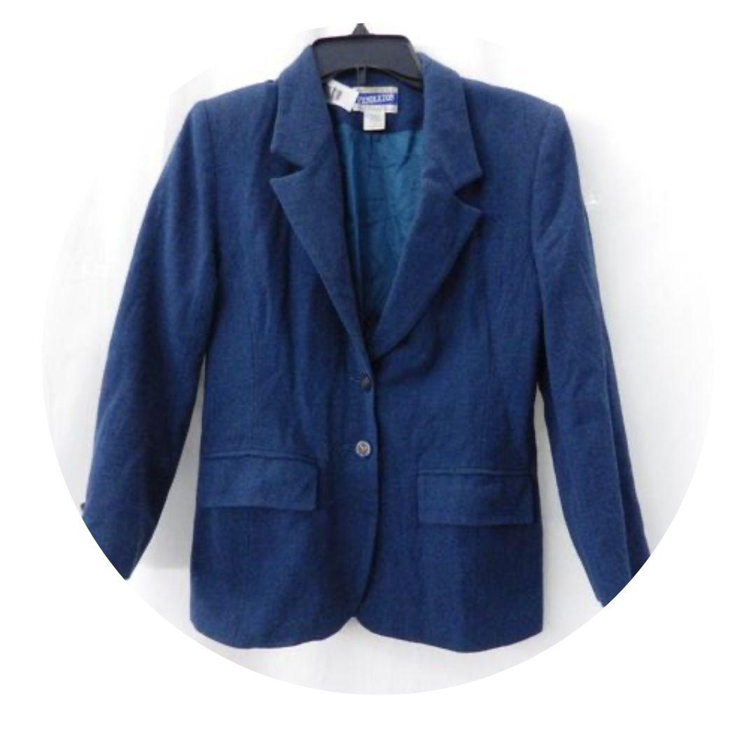 Pendleton Petit Women's Blue Blazer Size 4