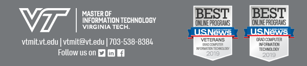 Virginia Tech Master of Information Technology Program