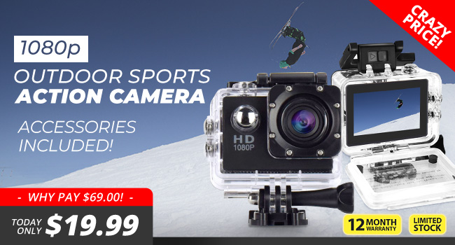Outdoor Sports Action Cam