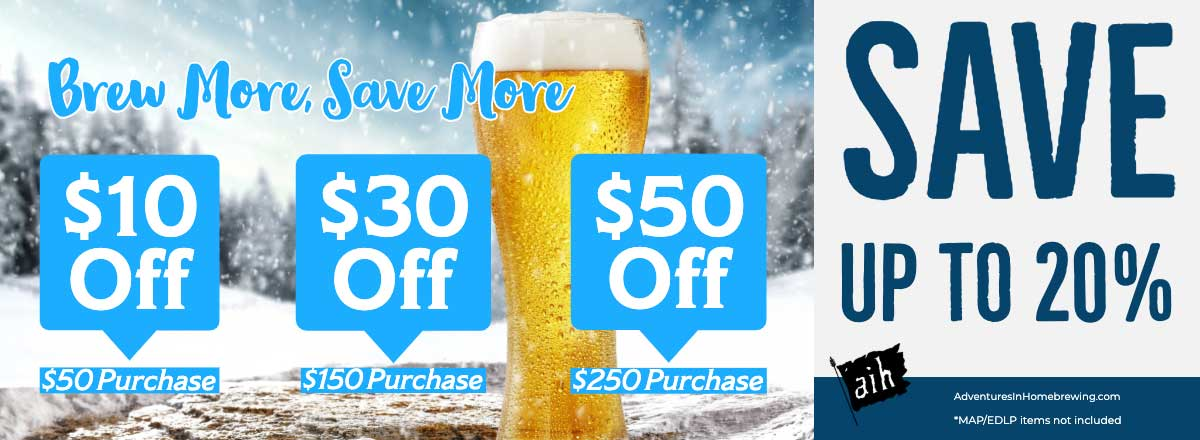 Last Call For Brew More Save More