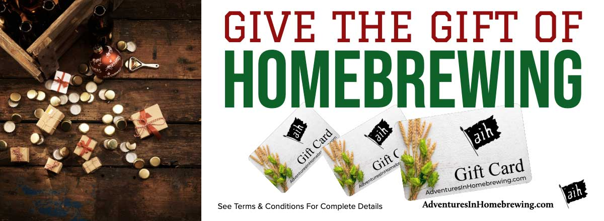 Homebrew Gift Cards