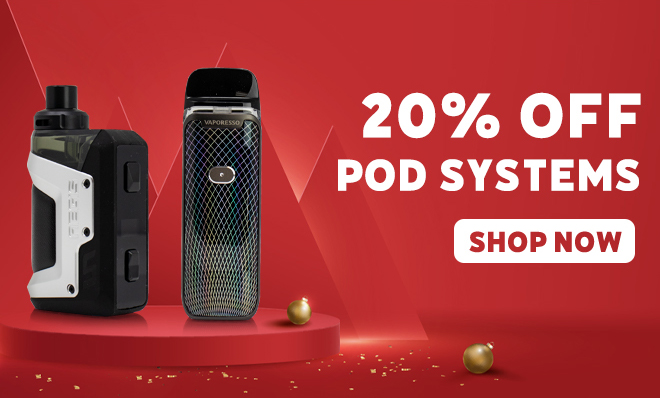Save on all Pod Systems