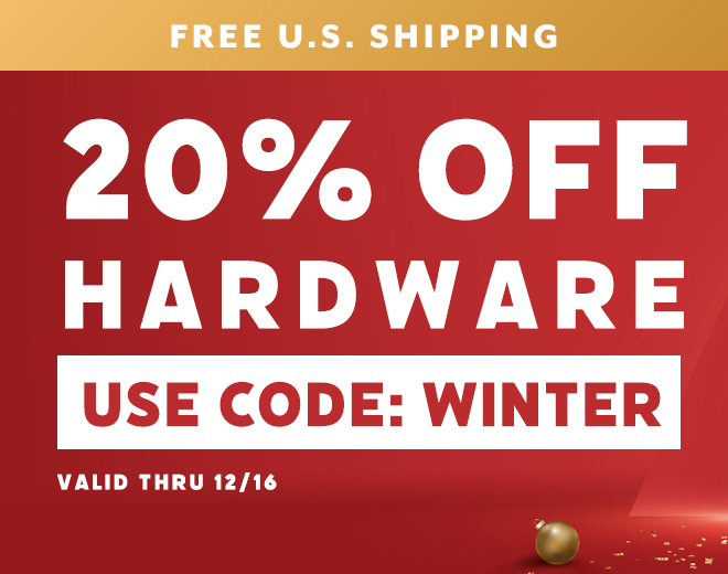 Save on all Hardware