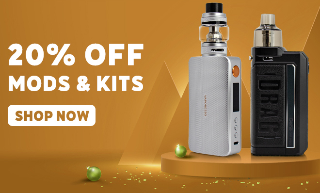 Save on all Mods & Kits