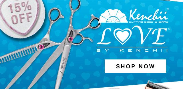 Shop 15% Off Kenchii Love Scissor Range